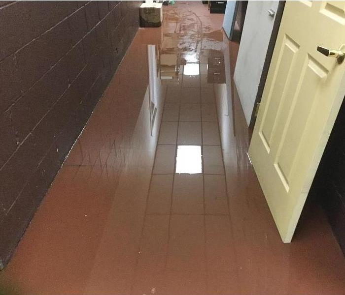 Bowling Alley Water Damage