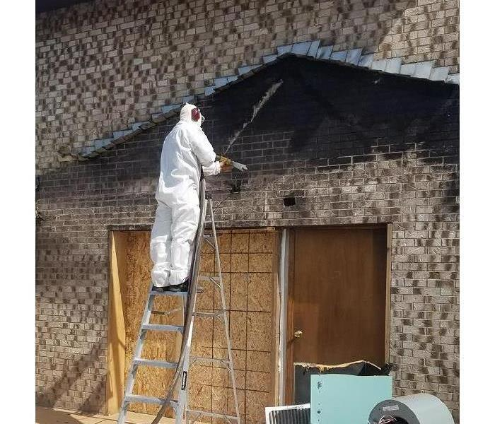 Fire Damage Soda Blasting, What's that??